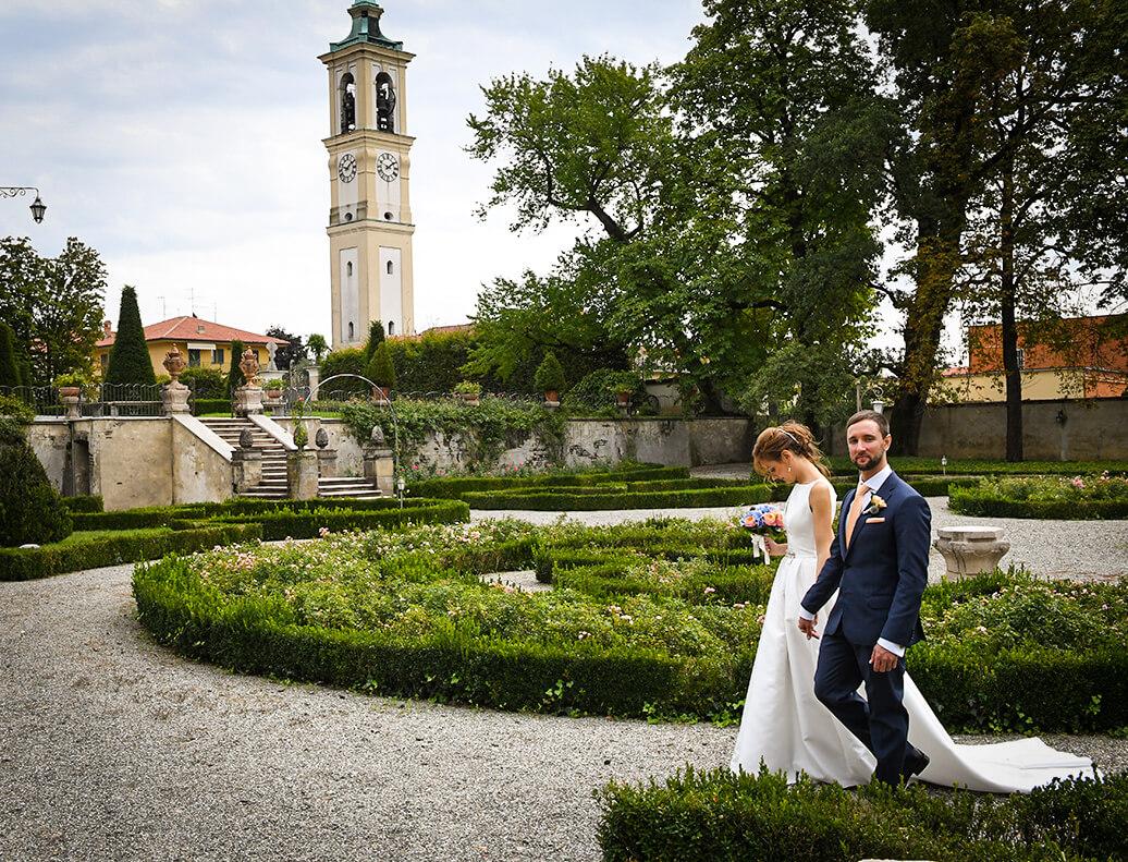Sposi a Villa Trivulzio