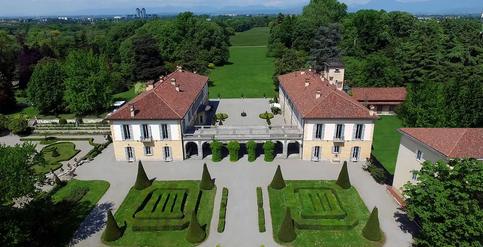 Panoramica Villa Trivulzio