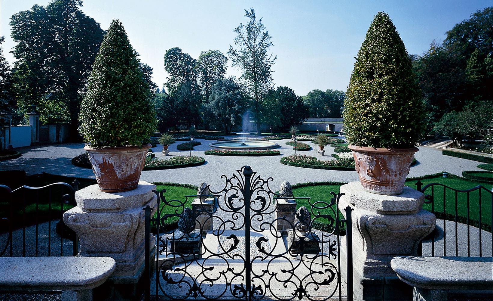 giardini villa trivulzio