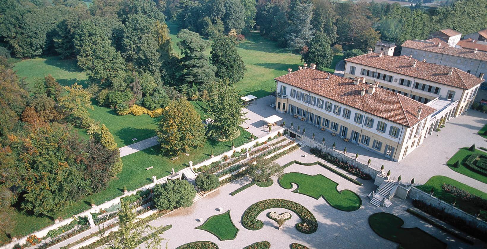 Villa dall'alto