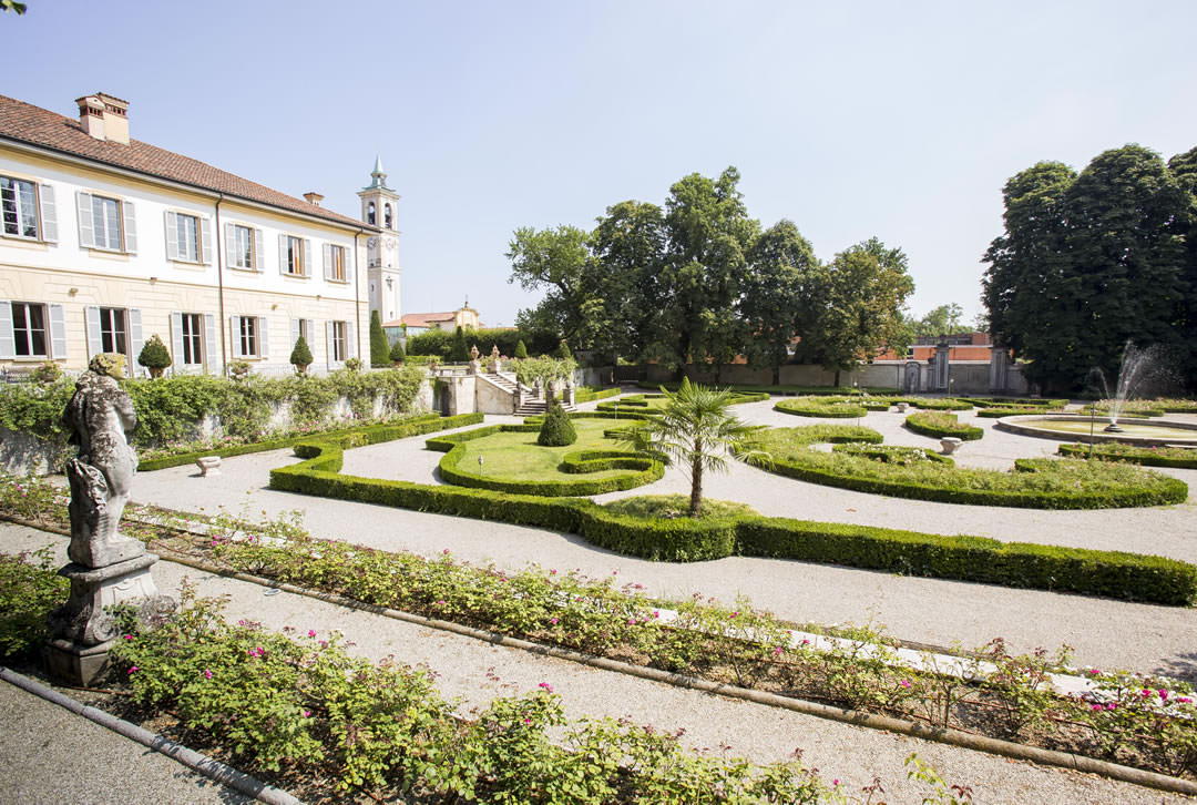 Giardini di villa trivulzio